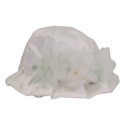 Cappello bianco da cerimonia