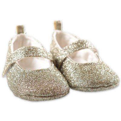 Miss Blumarine ballerine prewalker glitterate oro