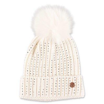 Miss Blumarine white knit hat