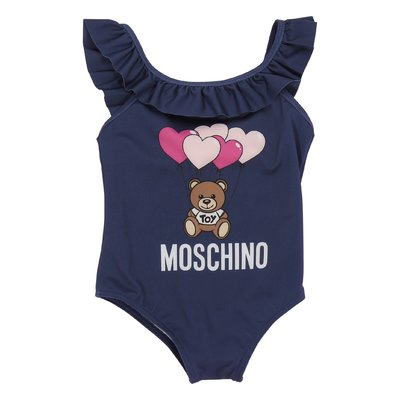 Moschino navy blue Teddy Bear swimsuit