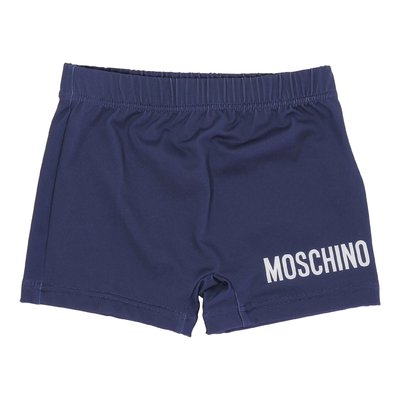 Costume shorts da mare blu in lycra