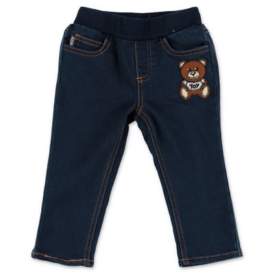 Moschino stretch cotton denim jeans