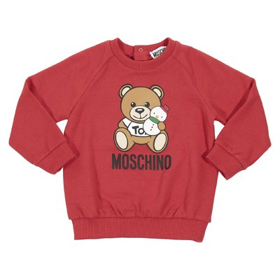 Teddy Bear red cotton sweatshirt