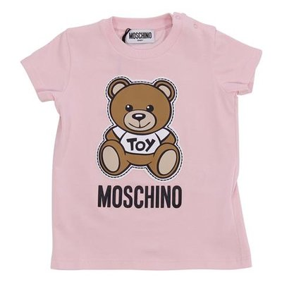 Teddy Bear pink cotton jersey t-shirt