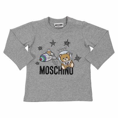 모스키노 코튼 저지 티셔츠