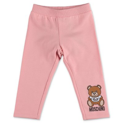 Moschino pink cotton sweatpants