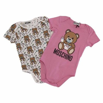Moschino cotton jersey two bodies set