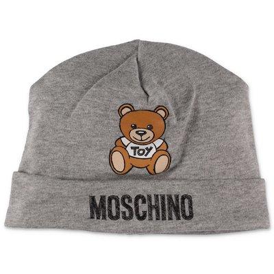 Moschino cappello grigio melange