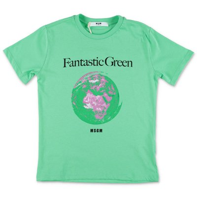 MSGM t-shirt verde