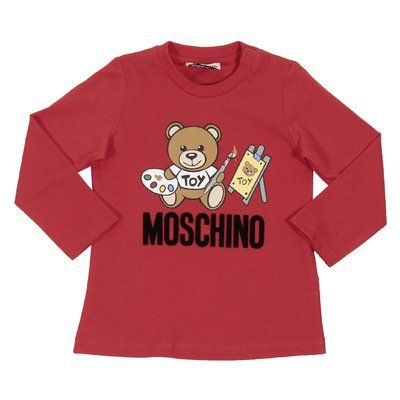 Teddy Bear red cotton jersey t-shirt