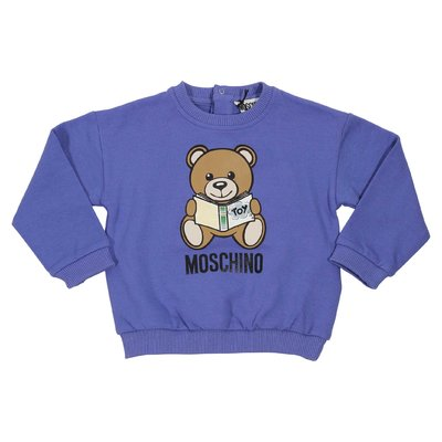 Teddy Bear blue cotton sweatshirt
