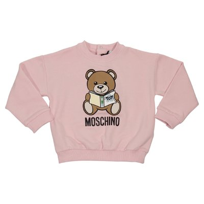 Teddy Bear pink cotton sweatshirt