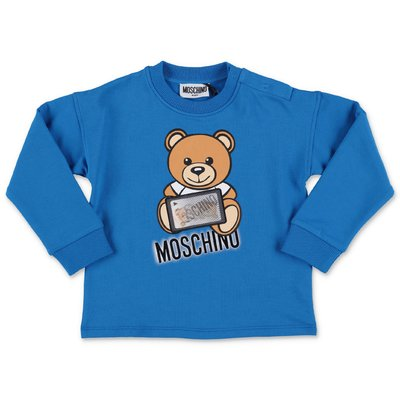 Moschino felpa blu royal