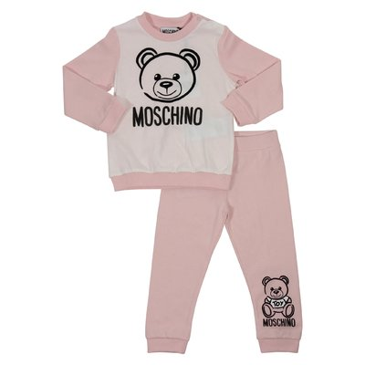Teddy Bear pink cotton set