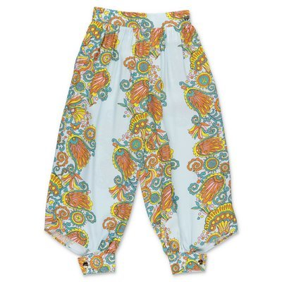 LANVIN paisley print viscose pants