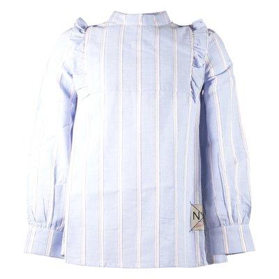 Light blue cotton poplin shirt