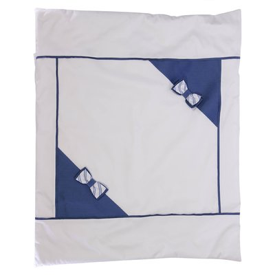 White cotton removable blanket