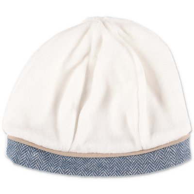 Modì white cotton chenille hat