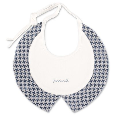 Modì white cotton bib