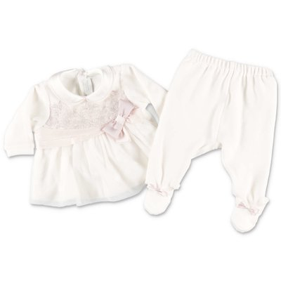 Modì white cotton chenille set