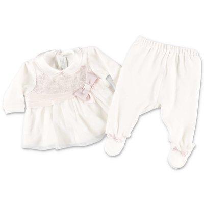 Modì white cotton chenille set