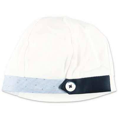 Modì white cotton jersey hat