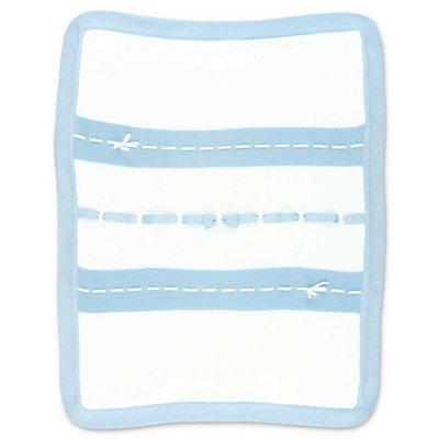 Modì coperta bianca in maglia di cotone