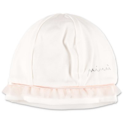 MODI' white formal stretch cotton hat