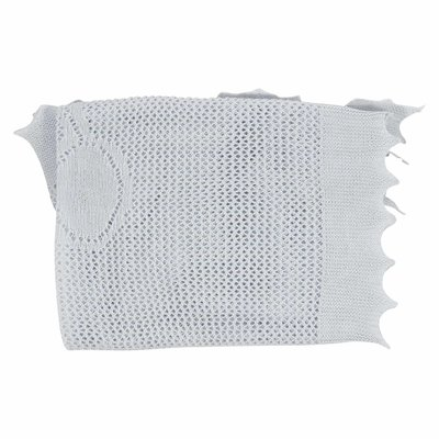 Light blue cotton wool fragrant blanket
