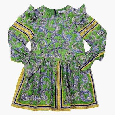 Bohemien printed dress