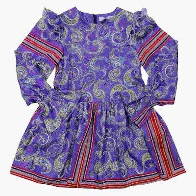 필로소피드 로렌조 세라피니 프린트 드레스