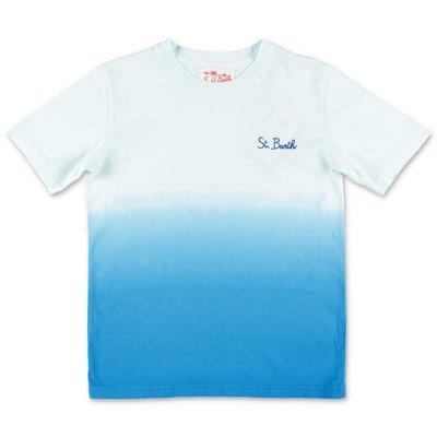 MC2 SAINT BARTH light blue cotton jersey t-shirt