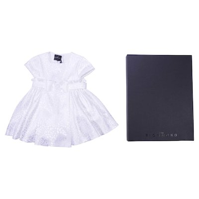 White christening gown
