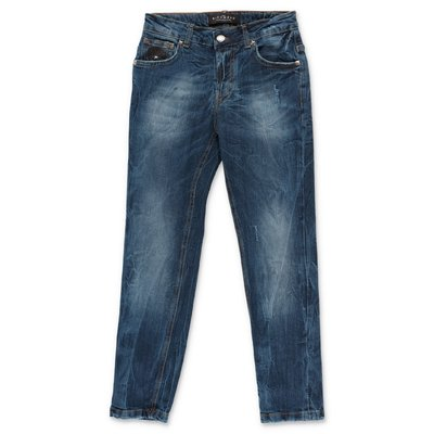 John Richmond blue stretch cotton denim jeans