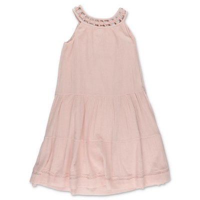 Bonpoint pink cotton dress