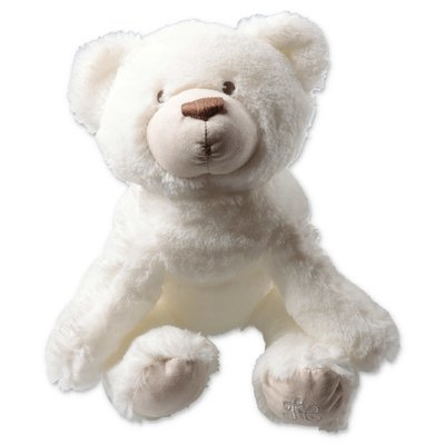 Tartine & Chocolat white teddy bear Prosper, l'ours polaire