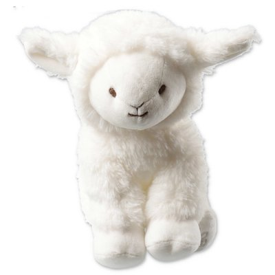 Tartine & Chocolat Edmond le mouton white baby stuffed animal