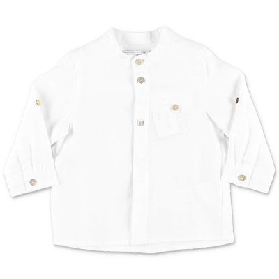 Tartine & Chocolat camicia bianca in cotone