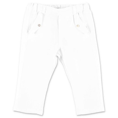 Tartine & Chocolat white cotton pants