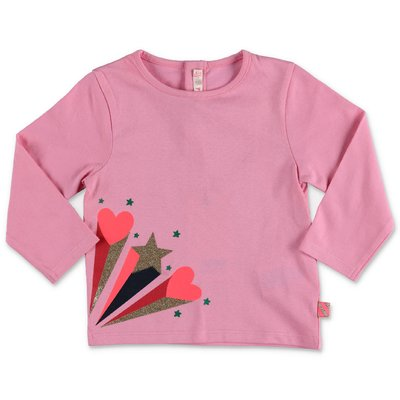 BillieBlush pink cotton jersey t-shirt