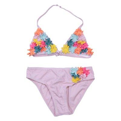 Pale pink lycra swimwear bikini
