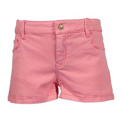 Stretch cotton denim shorts