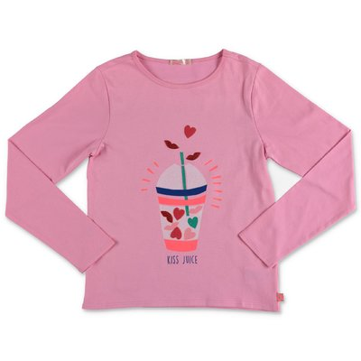 BillieBlush pink cotton jersey t-shirt