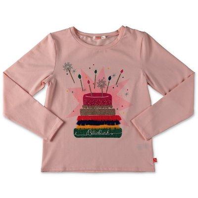 BillieBlush powder pink cotton jersey t-shirt