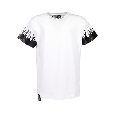 Vision of Super white cotton jerseyt-shirt