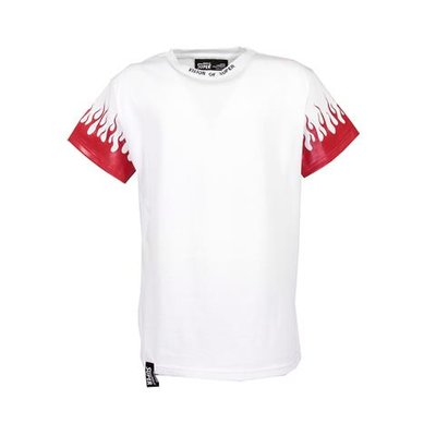 T-shirt bianca in jersey di cotone