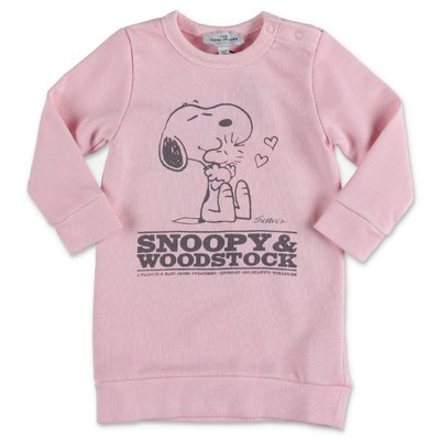 Little Marc Jacobs pink cotton sweatdress