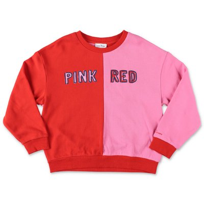 Little Marc Jacobs pink & red cotton sweatshirt
