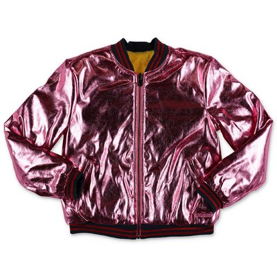 Little Marc Jacobs techno fabric reversible jacket