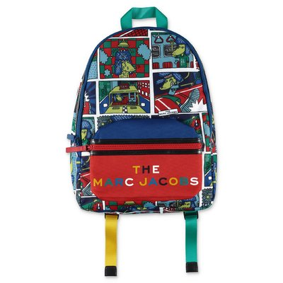 Little Marc Jacobs printed nylon backpack
